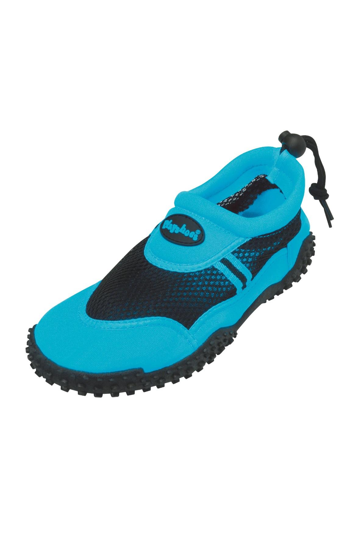 Buty kąpielowe niebieskie