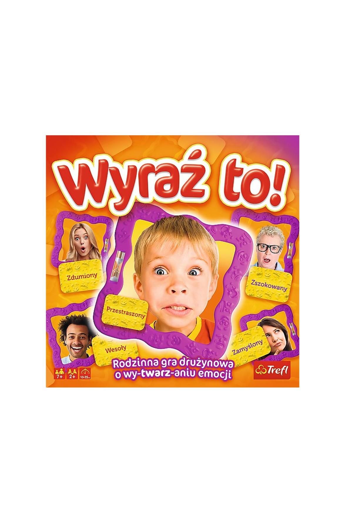 Wyraź to! gra dla dzieci Trefl