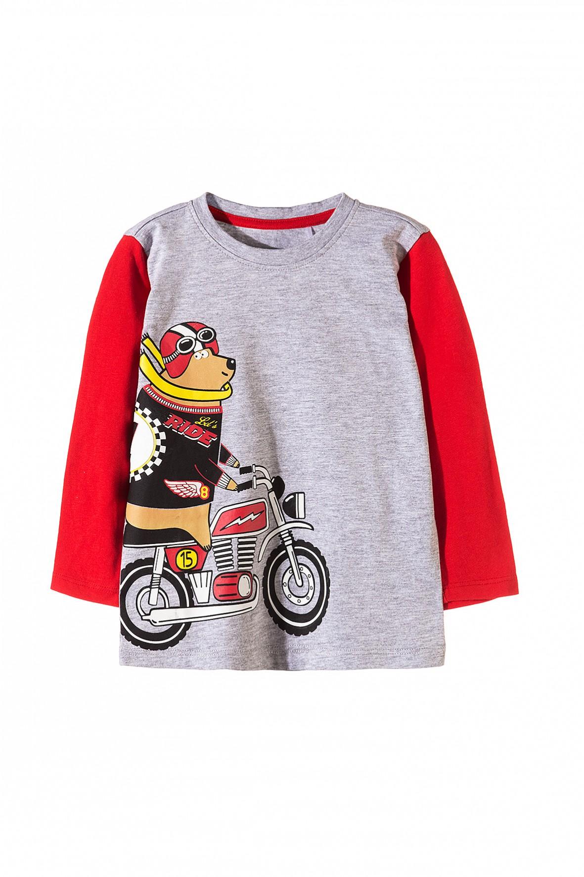 Bluzka chłopięca-moto