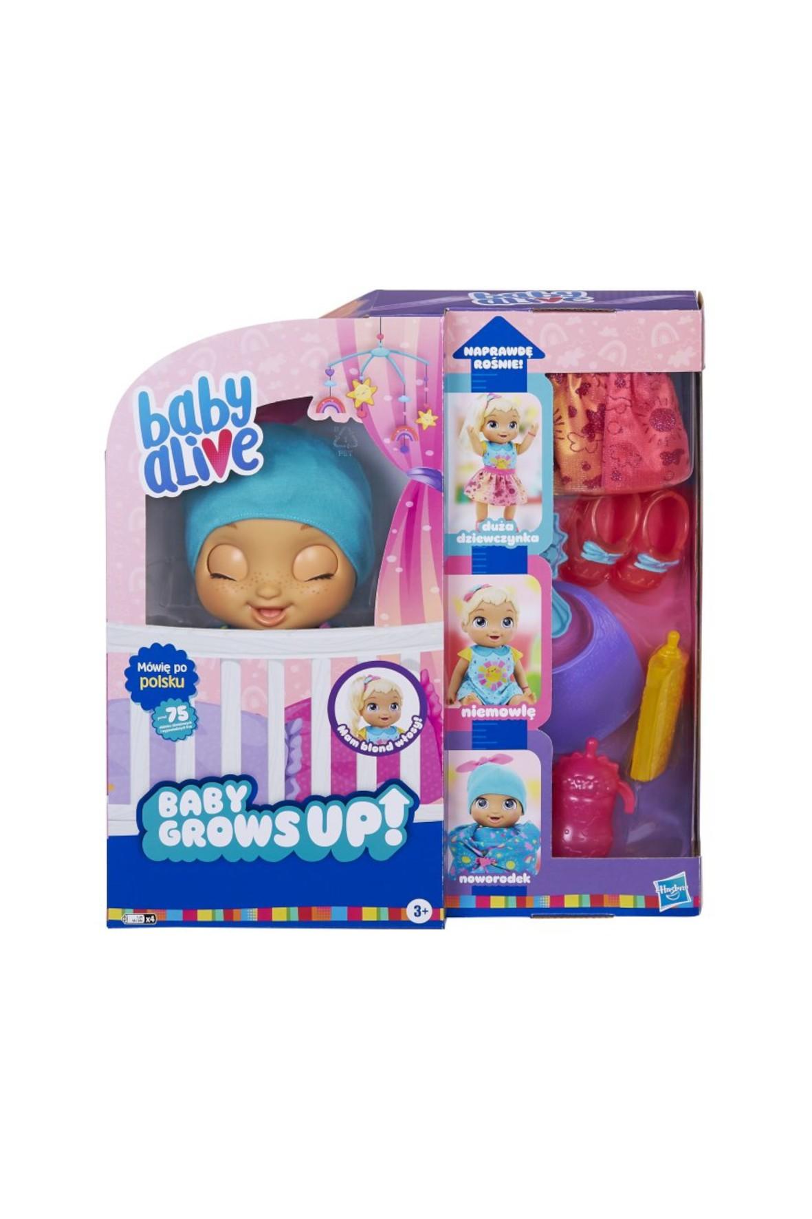 Baby Alive - Lalka wiek 3+