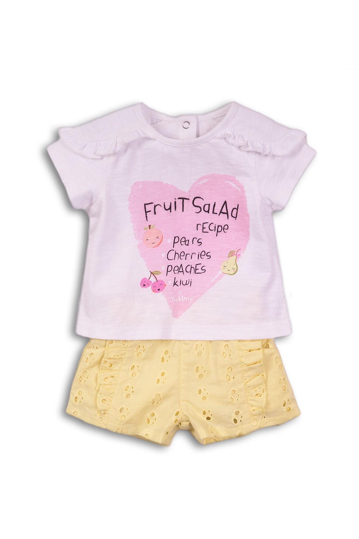 Komplet niemowlęcy - tshirt i szorty