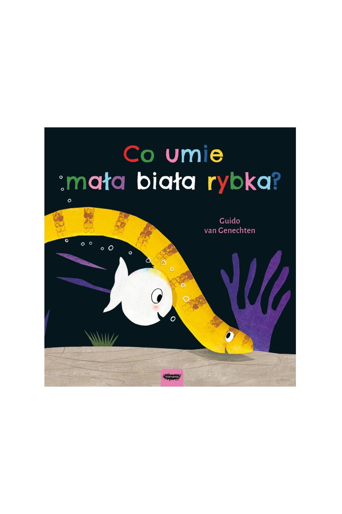 """""""Co umie mała biała rybka?""""-książka dla dzieci"""