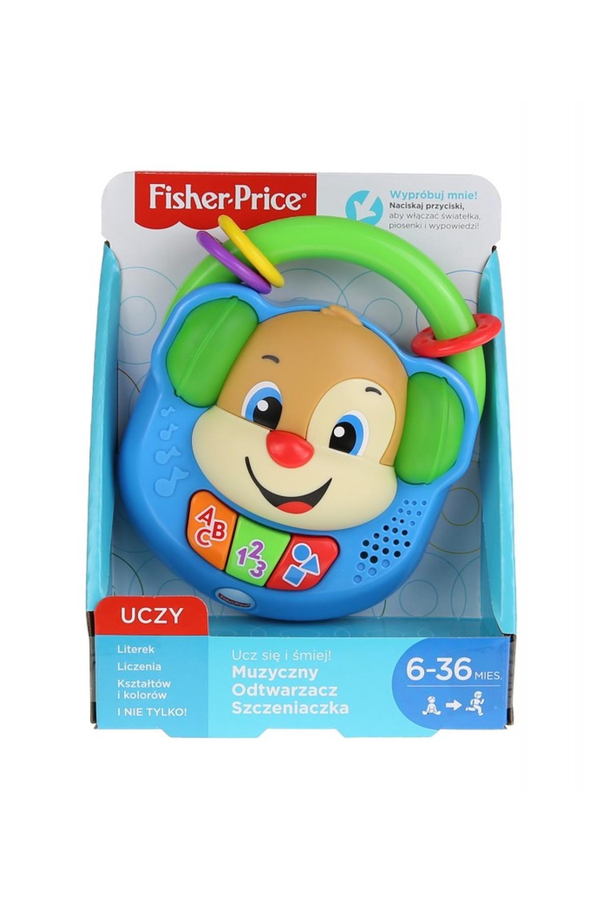 Fisher Price Muzyczny odtwarzacz Szczeniaczka 6msc+