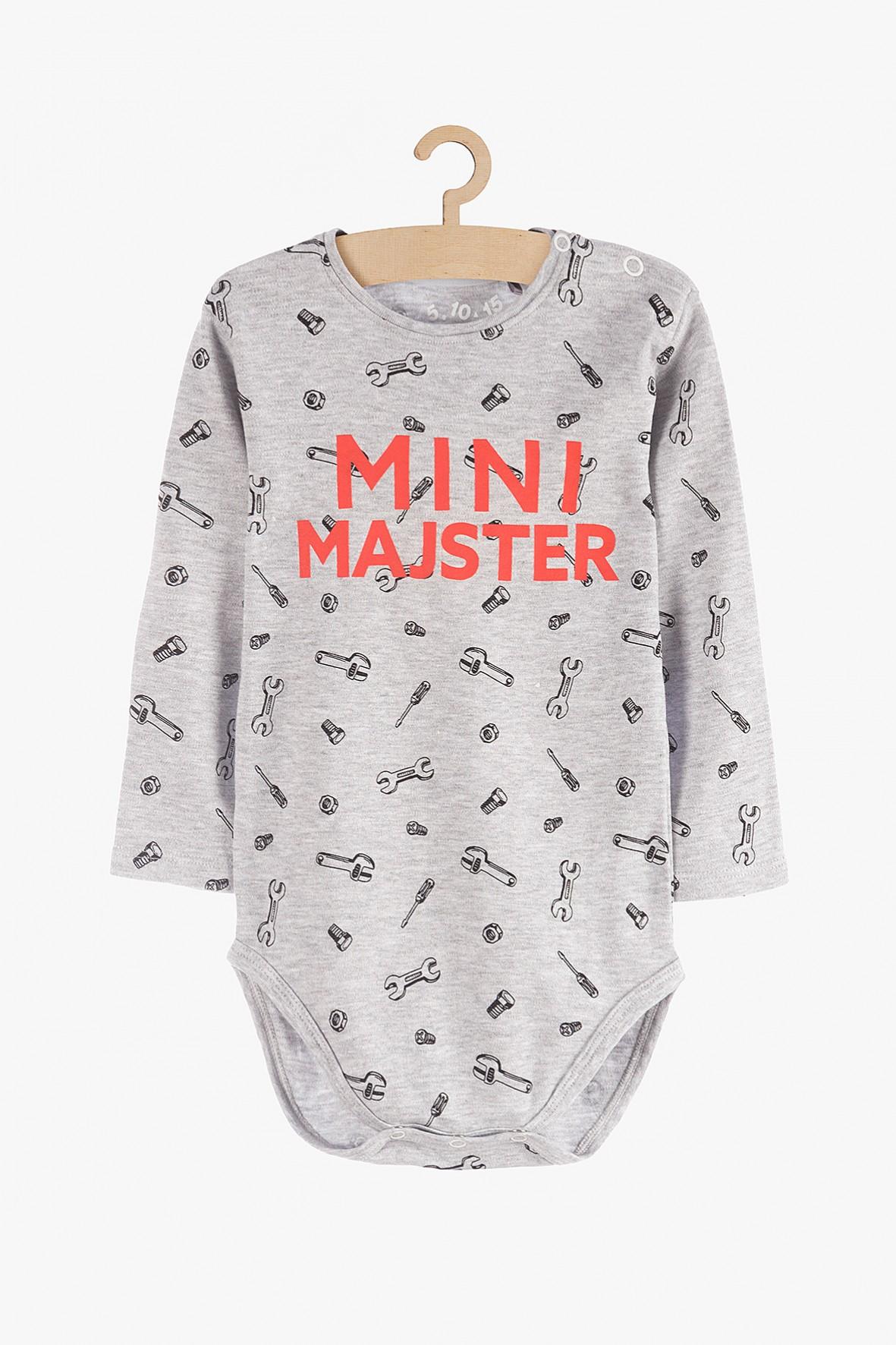 """Body niemowlęce z długim rękawem """"Mini Majster"""""""