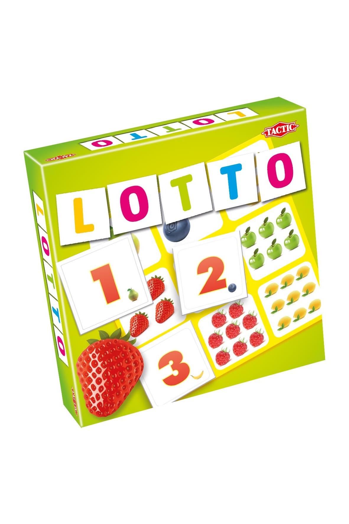 Gra Lotto - numery i owoce