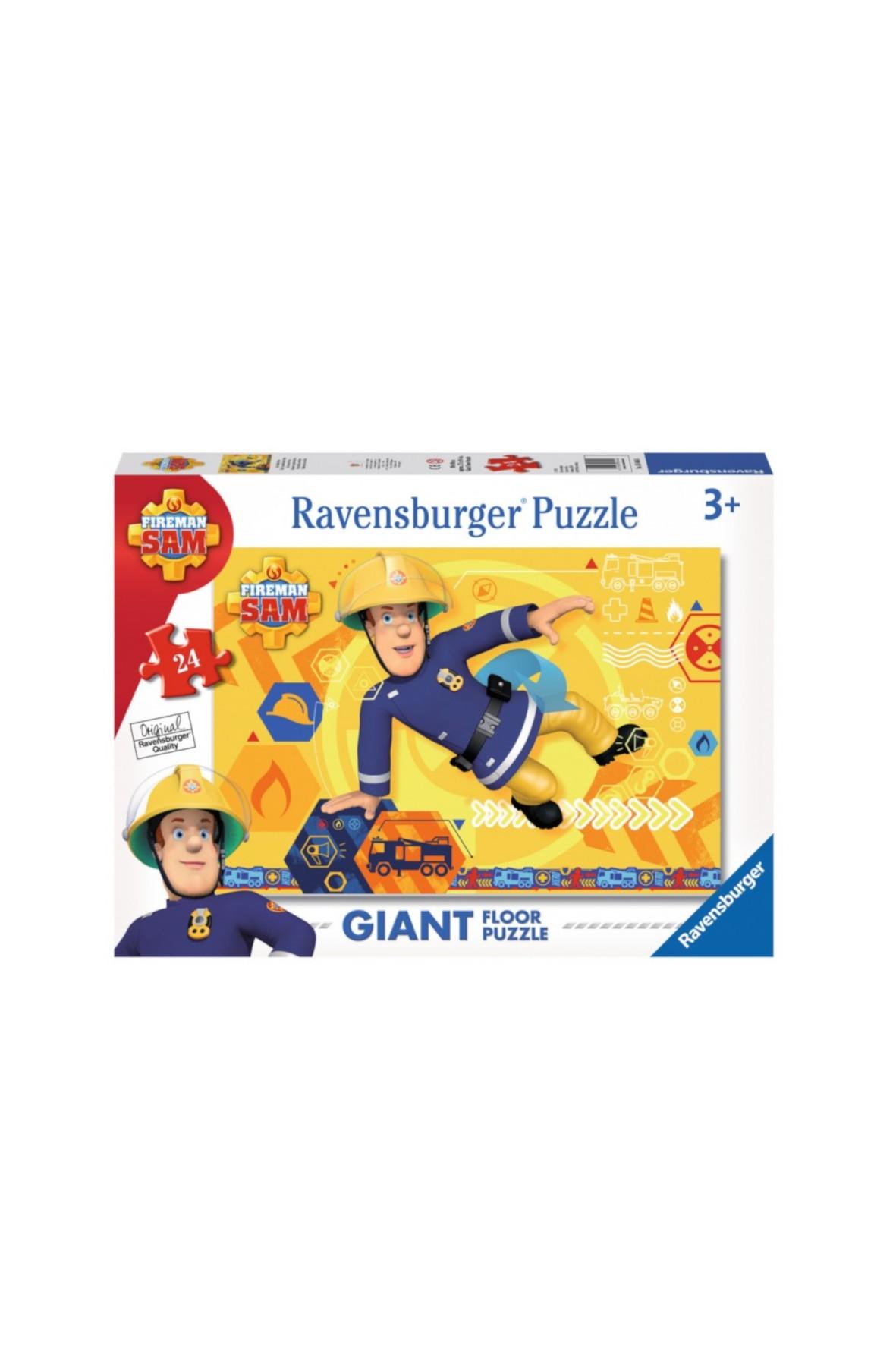 Puzzle dla dzieci Strażak Sam 24 elem.