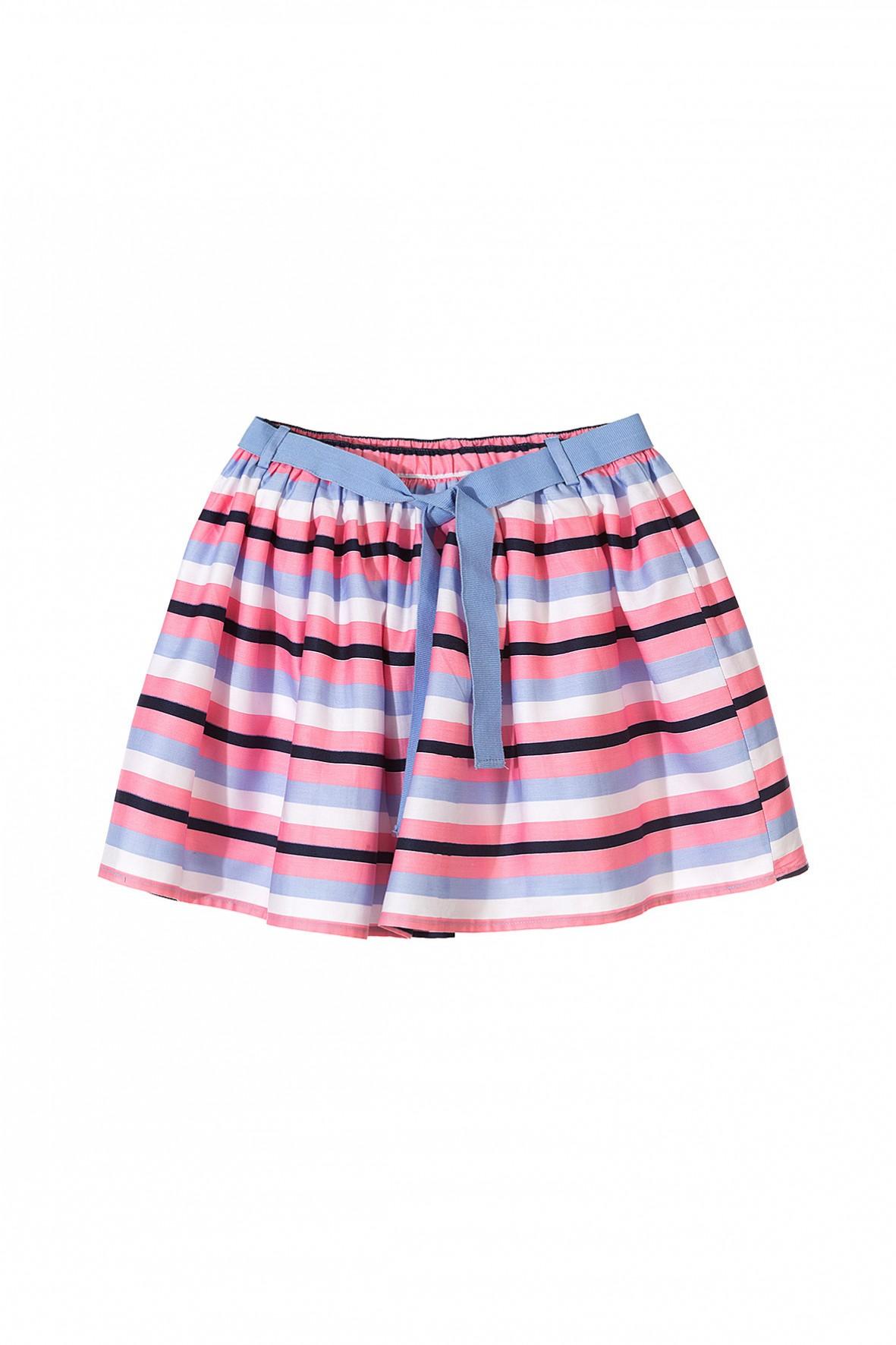 Spódnica dziewczęca w paski-ubrania na specjalne okazje