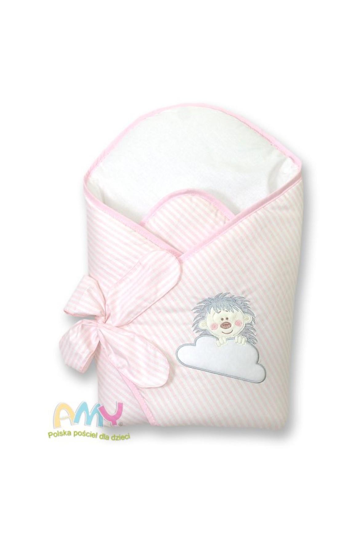 Becik dla dziecka Amy Jeżyk- różowy