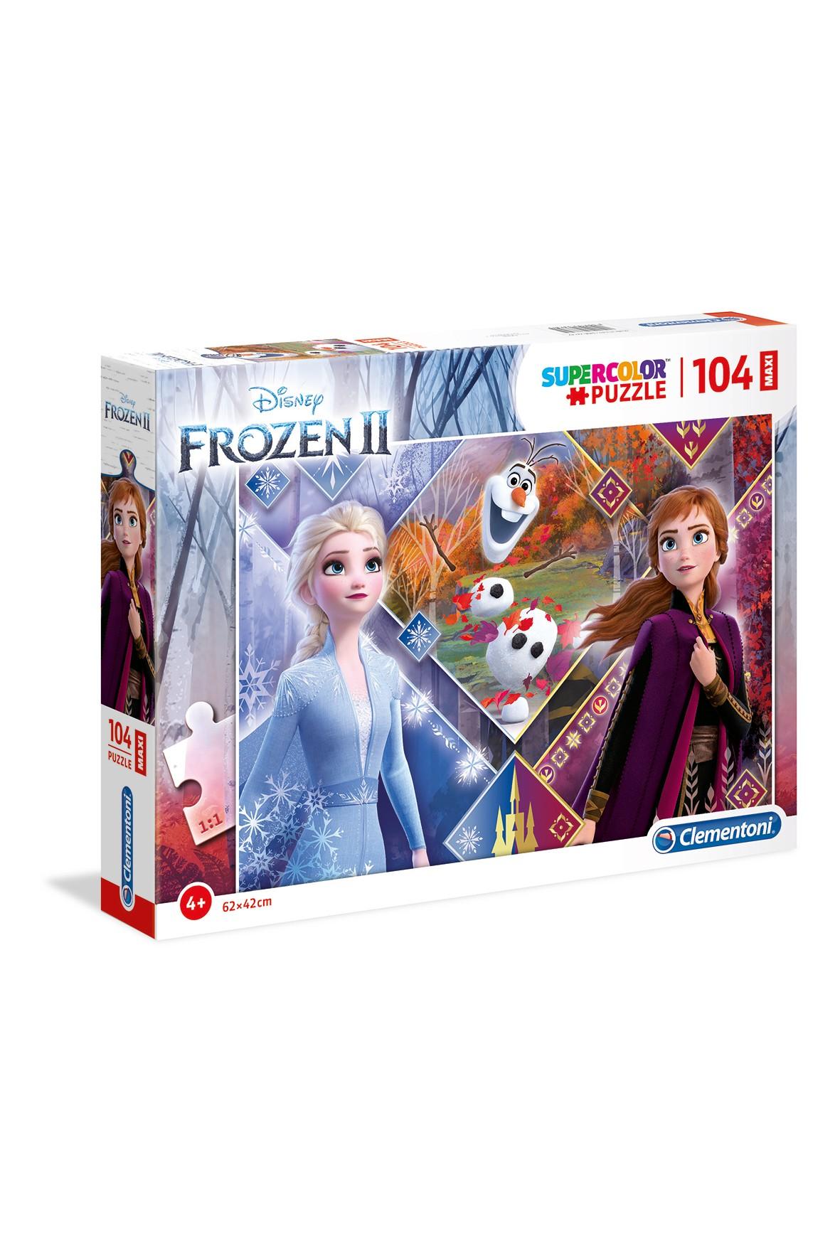 Puzzle Maxi Super Kolor Frozen 2  - 104 el wiek 4+