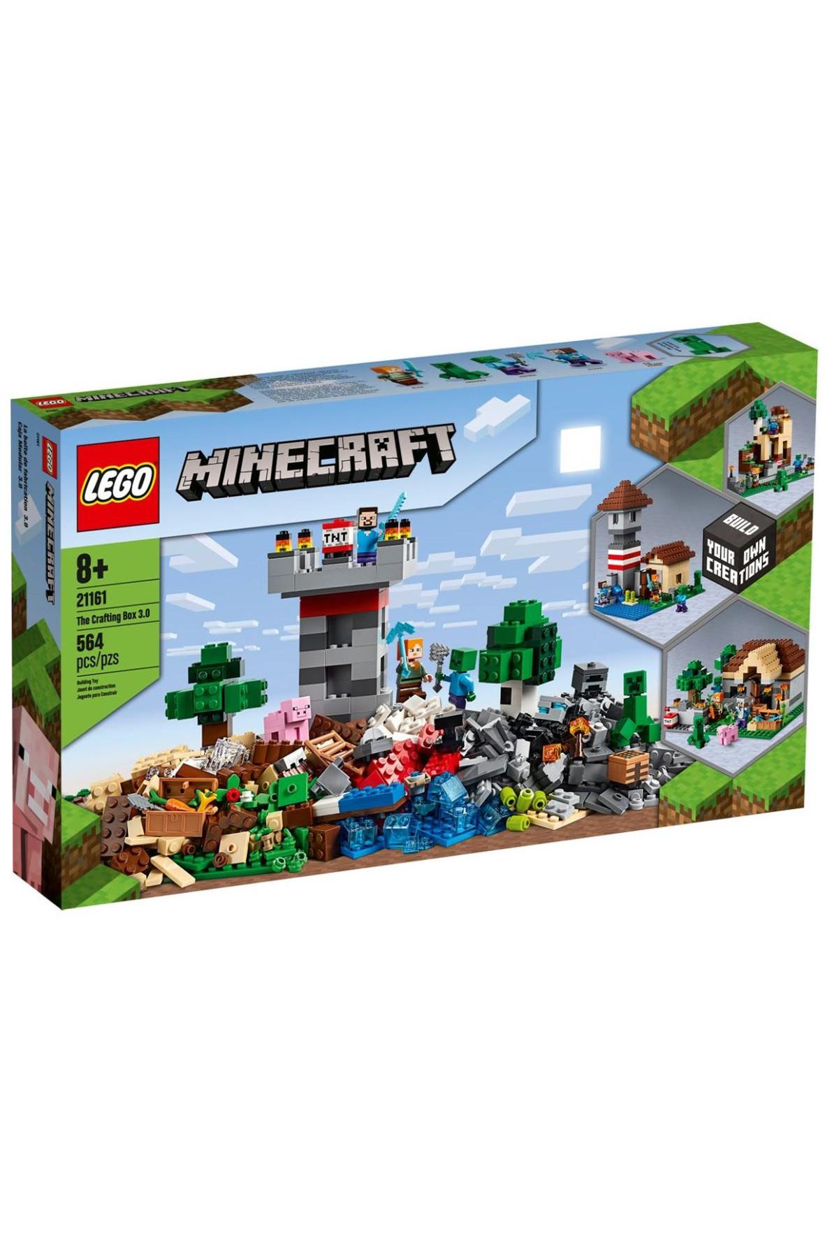 Lego  Minecraft - Kreatywny warsztat -  564 elementy wiek 8+