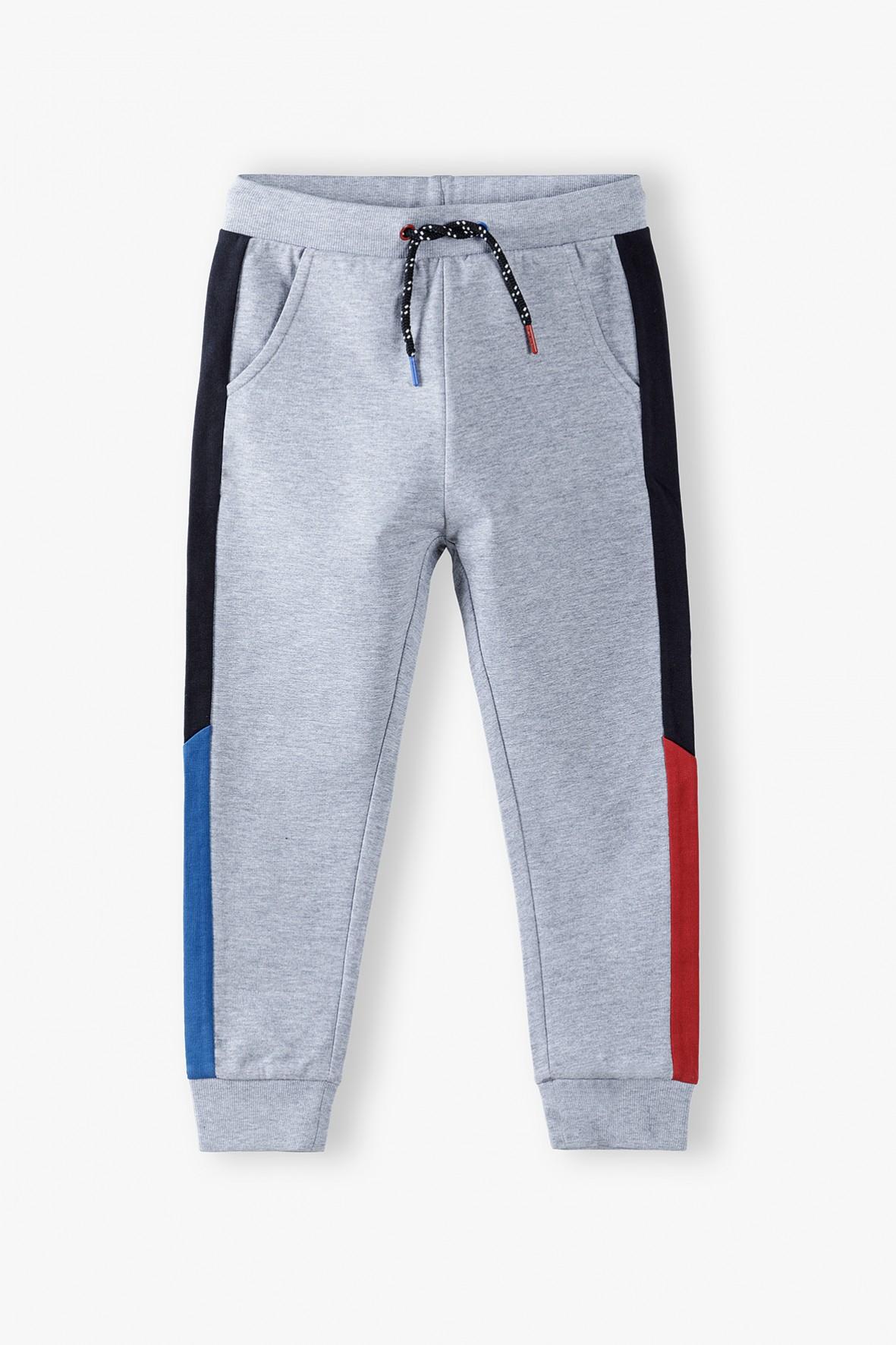 Spodnie dresowe chłopięce wielkolorowe