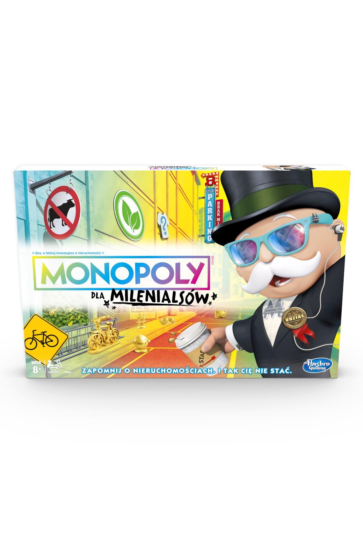 Monopoly dla Milenialsów- gra