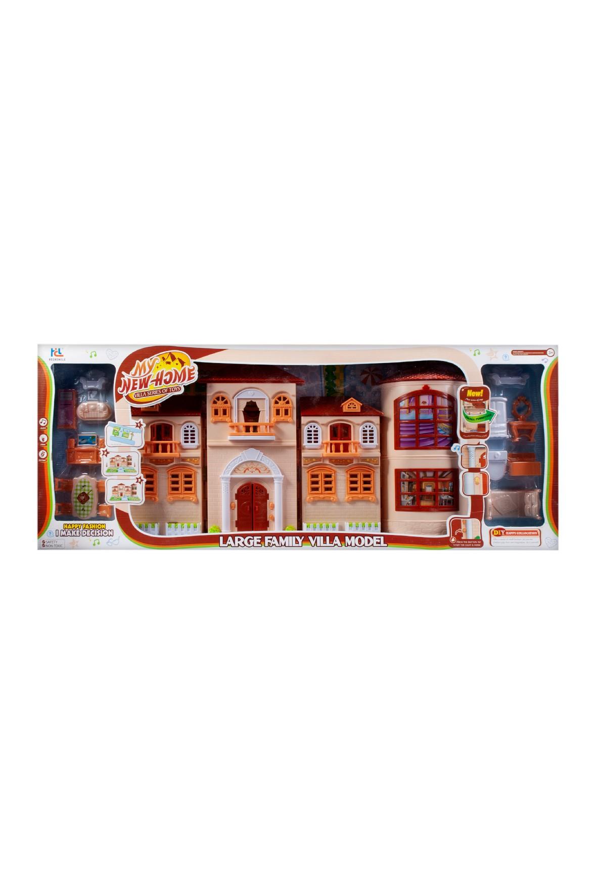 Domek dla lalek Mega Creative Villa 3+