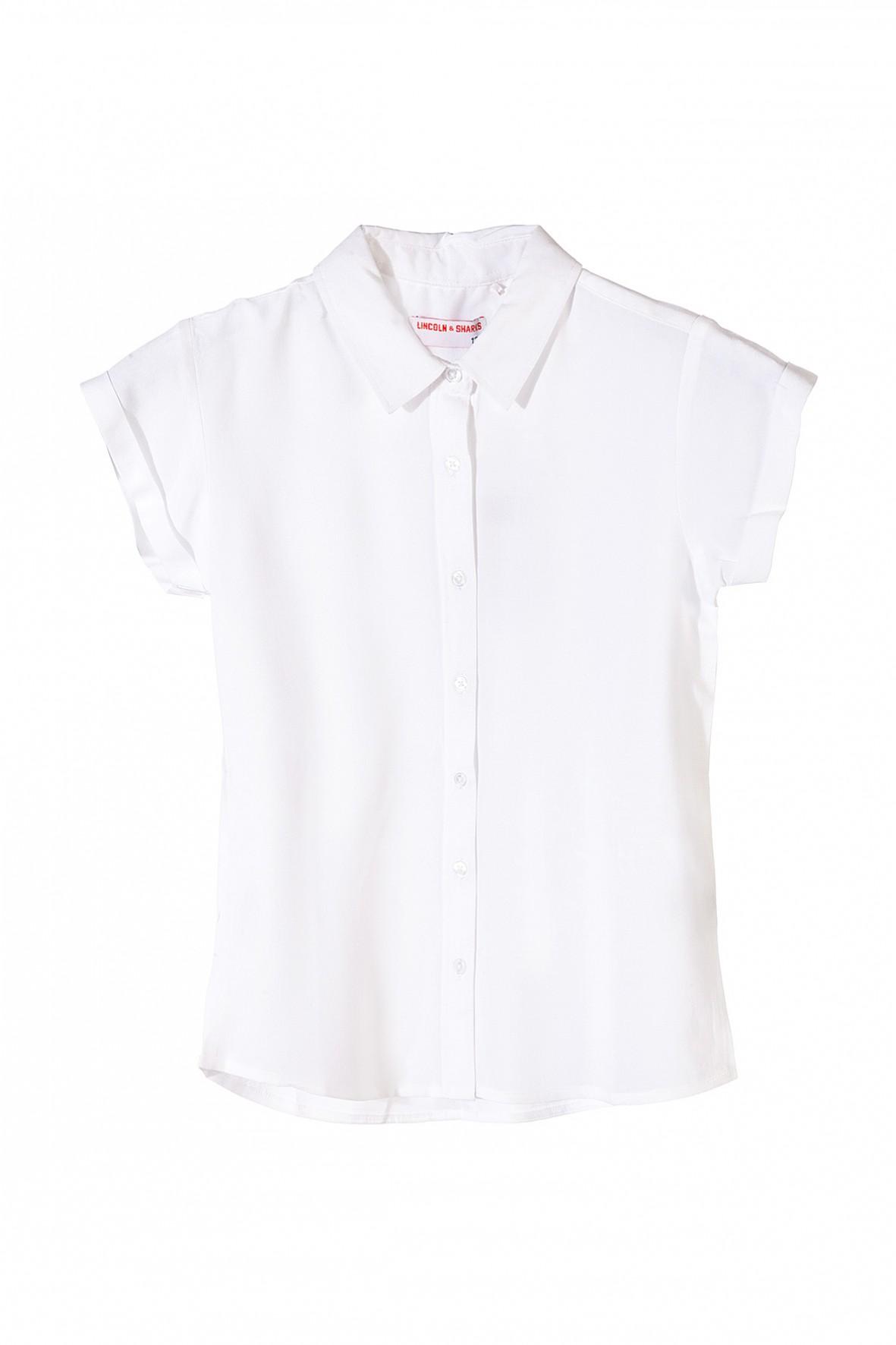 Koszula dziewczęca biała na specjalne okazje