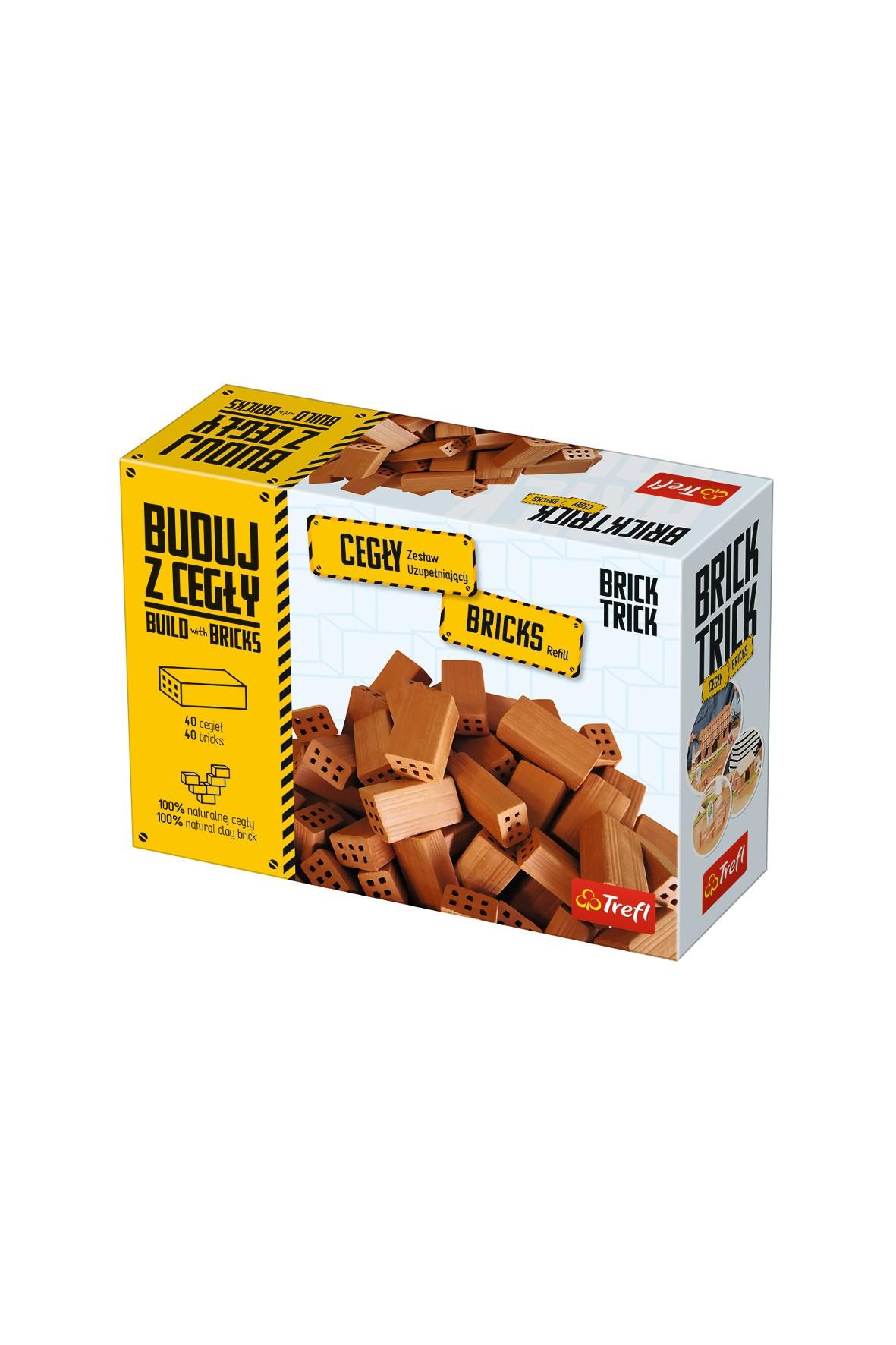 """Klocki ceramiczne Brick Trick - Zestaw uzupełniający cegły """"całe"""""""