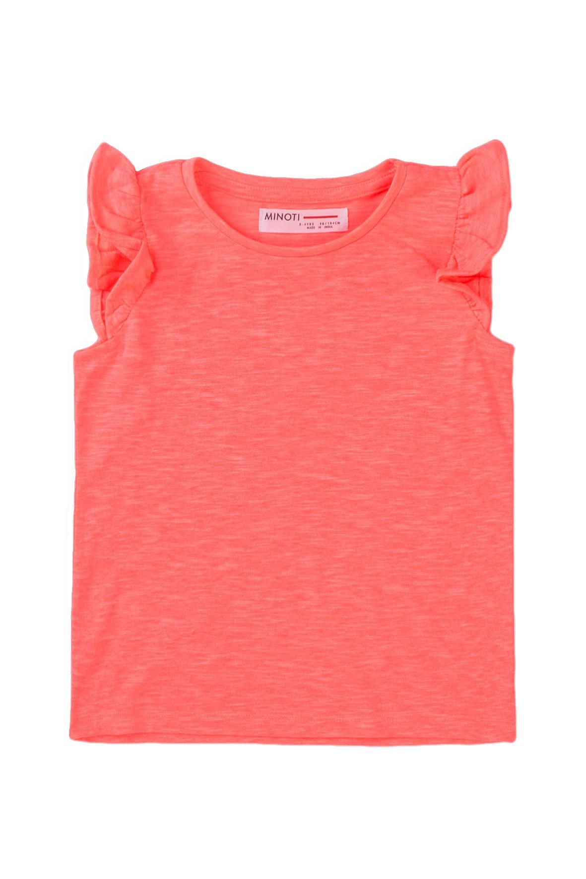 Bluzka dziewczęca w kolorze brzoskwiniowym