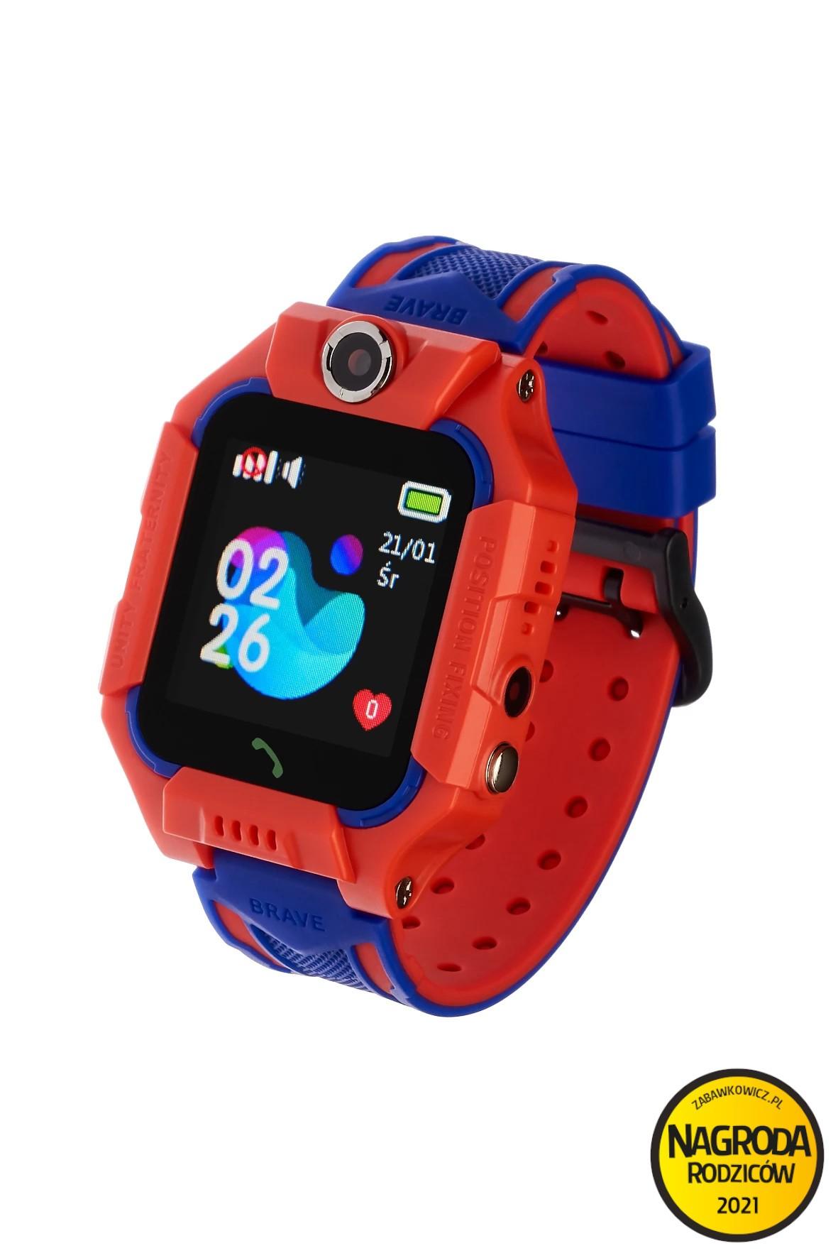 Smartwatch Garett Kids Play z lokalizatorem GPS-czerwony
