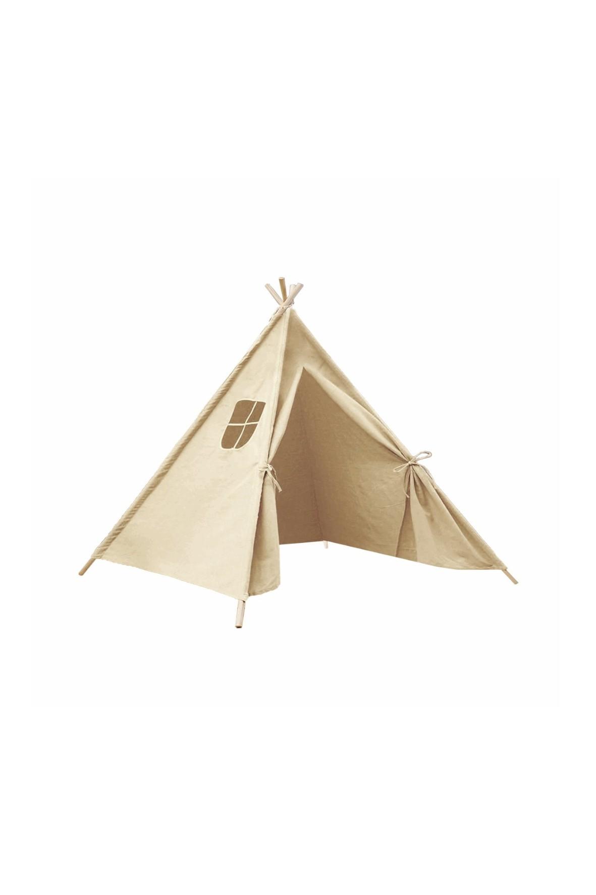 Namiot domek Teepee ecru 100x100x120cm