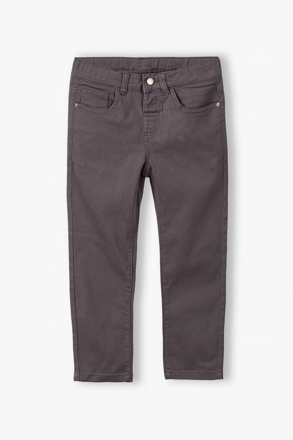 Spodnie dla chłopca szare