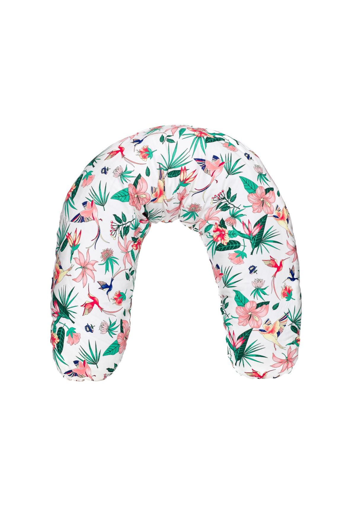 Poduszka do karmienia Basic 170cm white aloha
