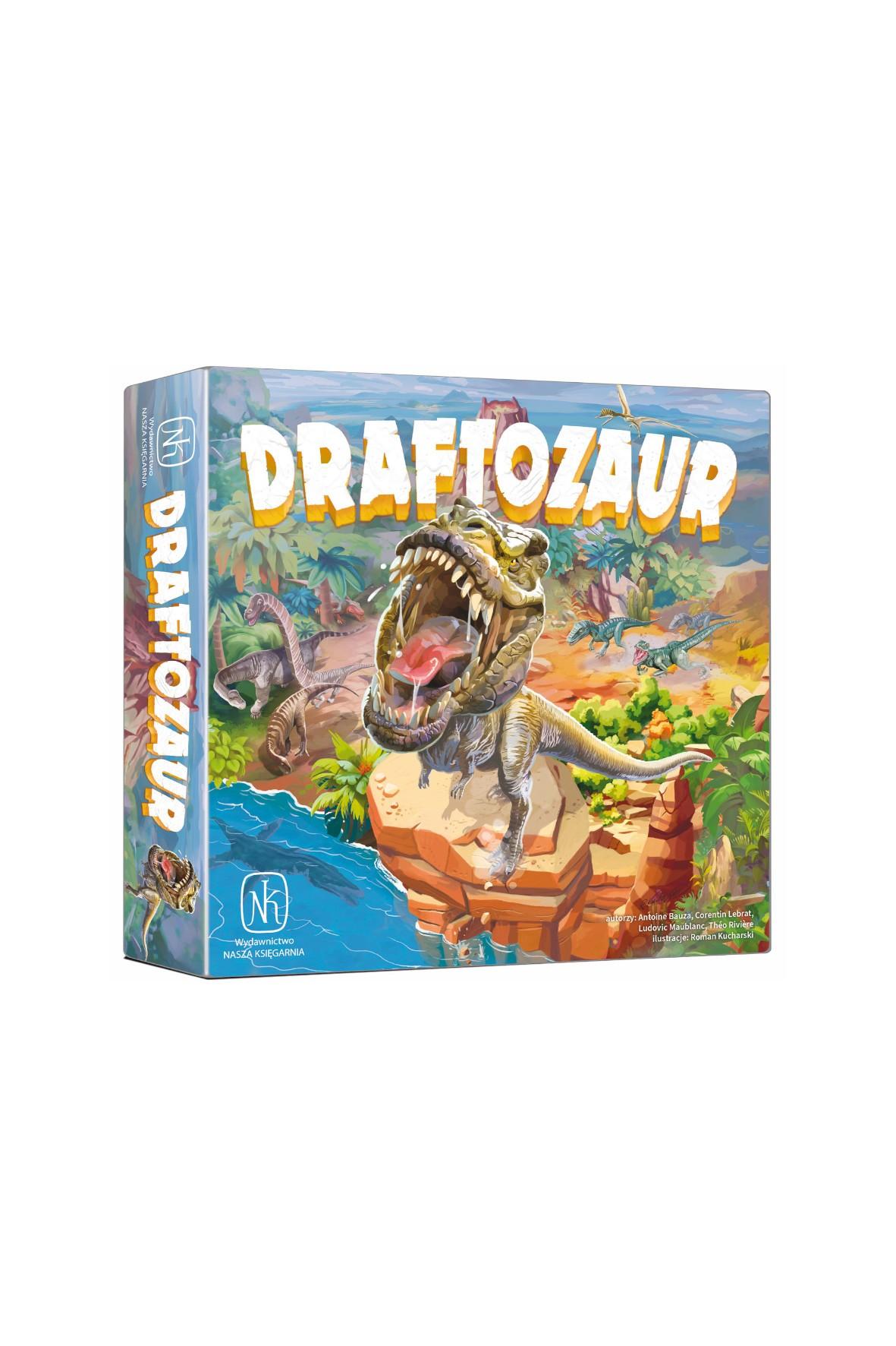 """Gra """"Draftozaur""""  wiek 8+"""