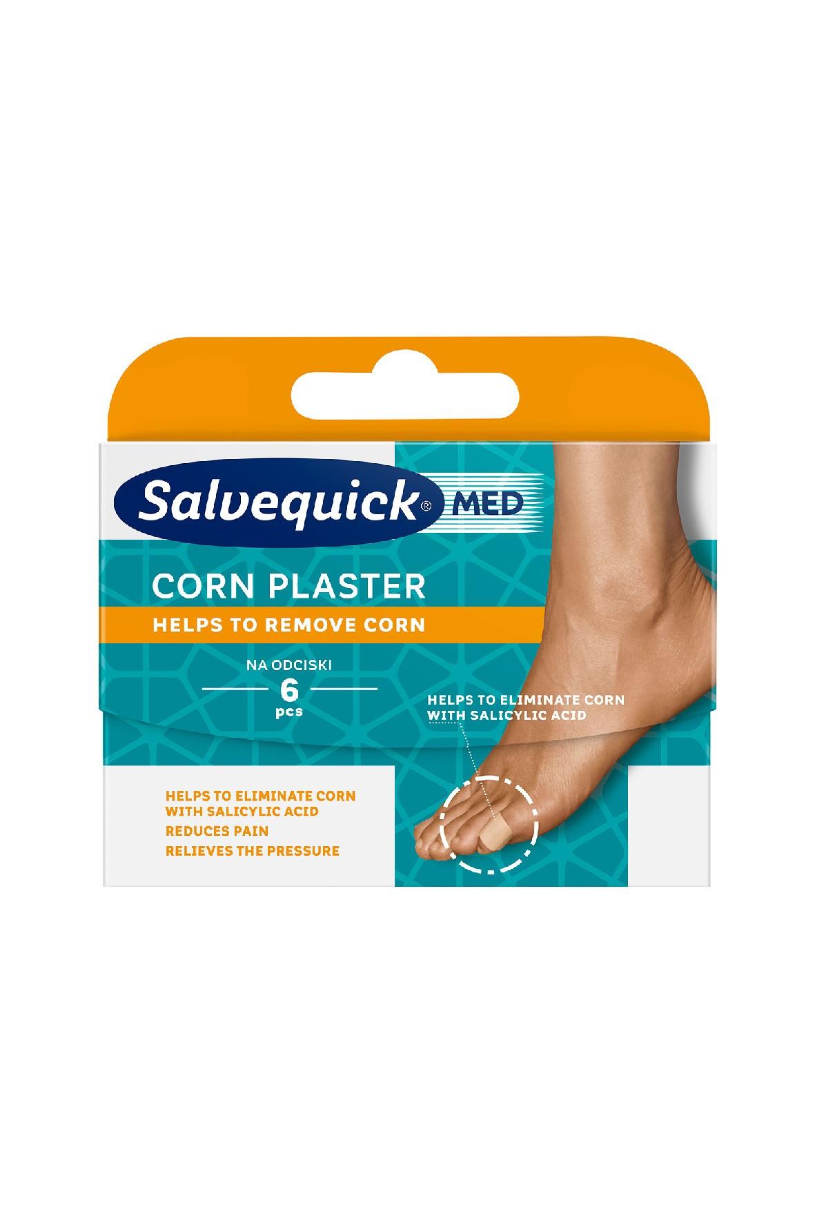 Salvequick Corn plastry na odciski 6 szt.