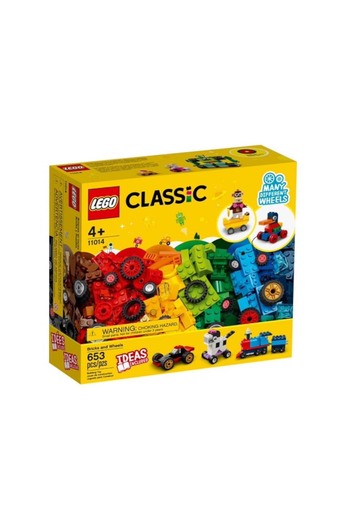 LEGO Classic - Klocki na kołach - 653 el wiek 4+