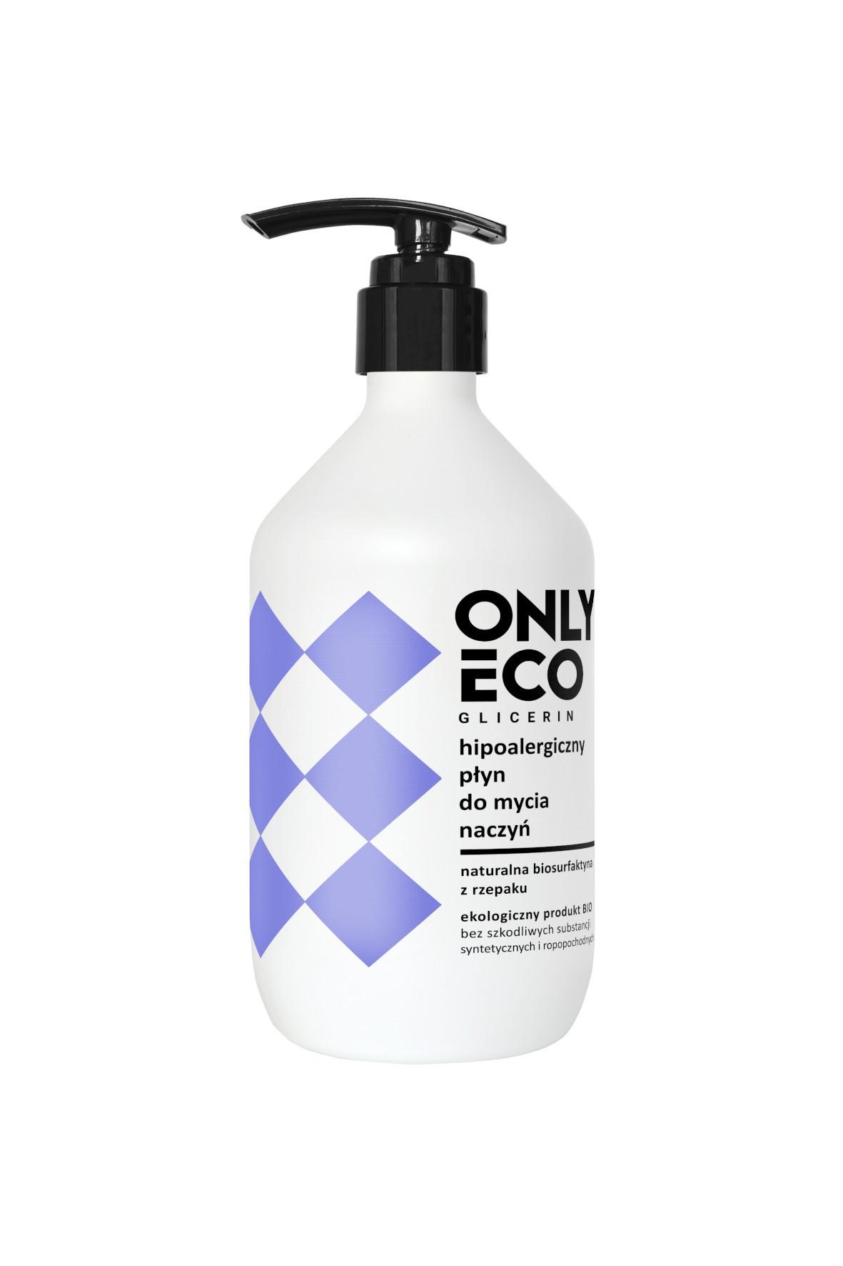 Płyn do mycia naczyń OnlyBio - hipoalergiczny z pompką 500ml