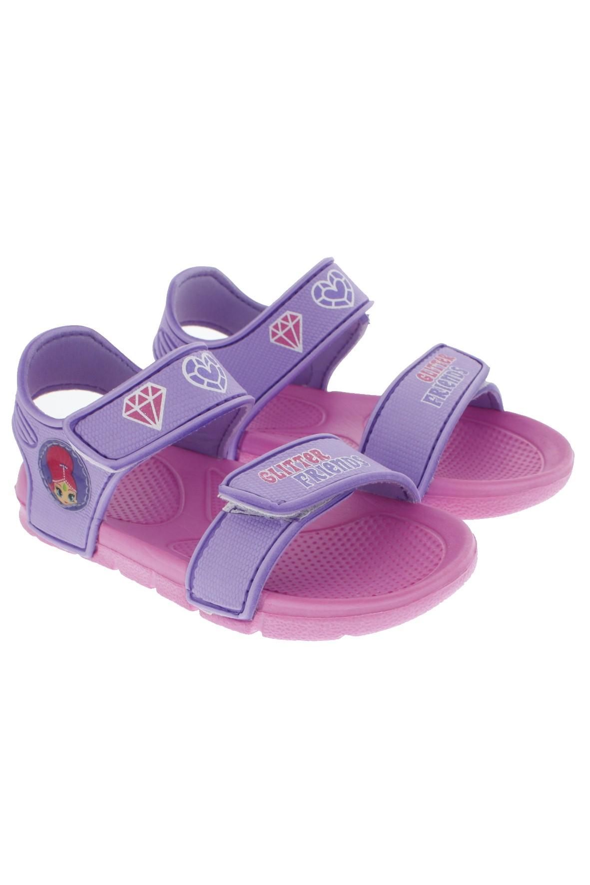 Różowe sandały dla dziewczynki
