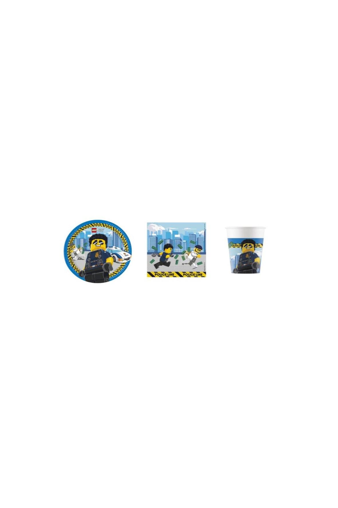 Zestaw urodzinowy Lego City -          36 elementów