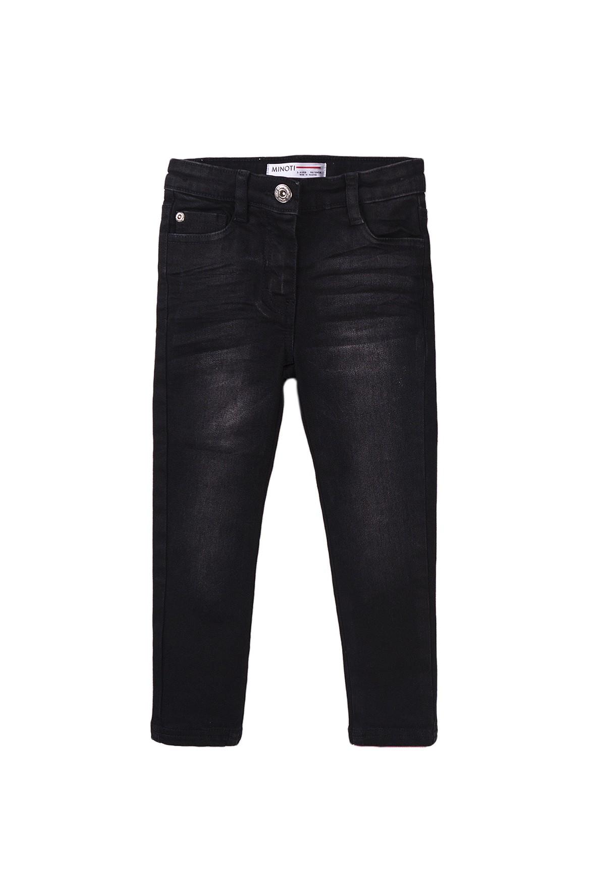 Spodnie jeansowe dziewczęce czarne