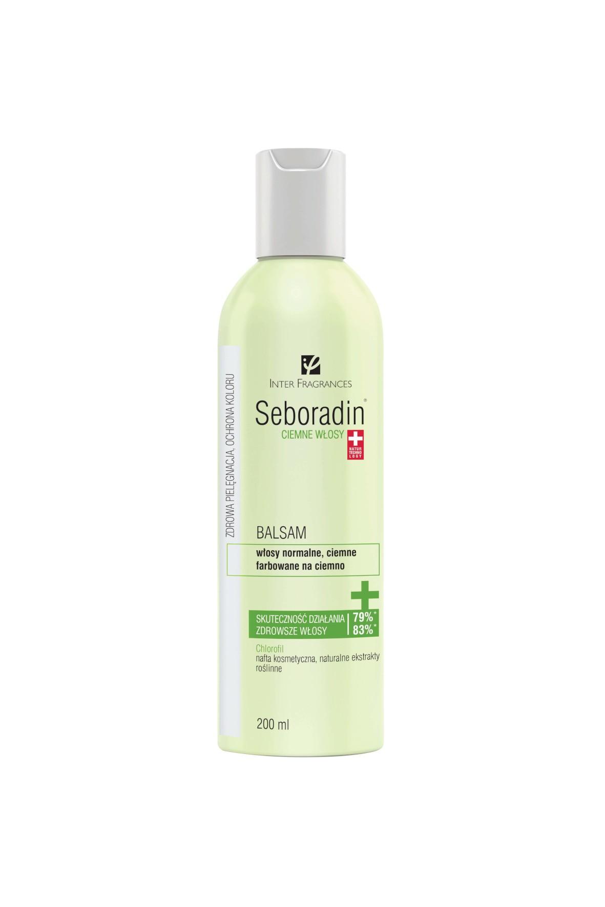 Seboradin Ciemne Włosy balsam - 200ml