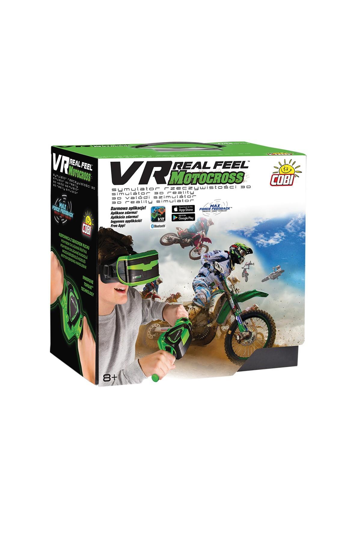 Gra VR Motocross Cobi 8+