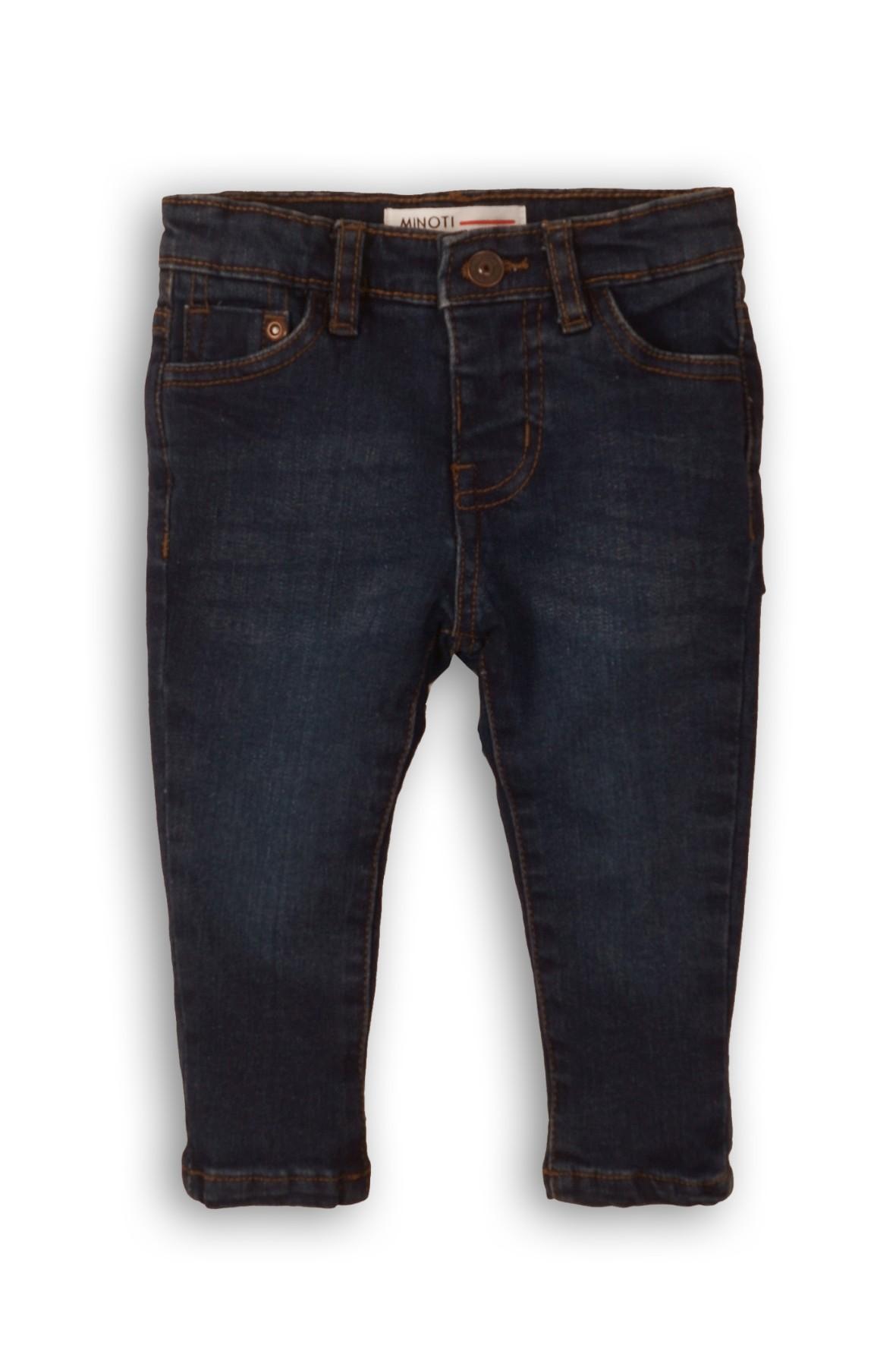 Spodnie chłopięce jeansowe ciemne