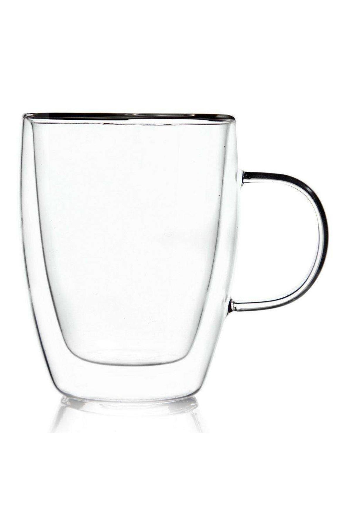 Szklanka termiczna z podwójną ścianką do kawy 300ml