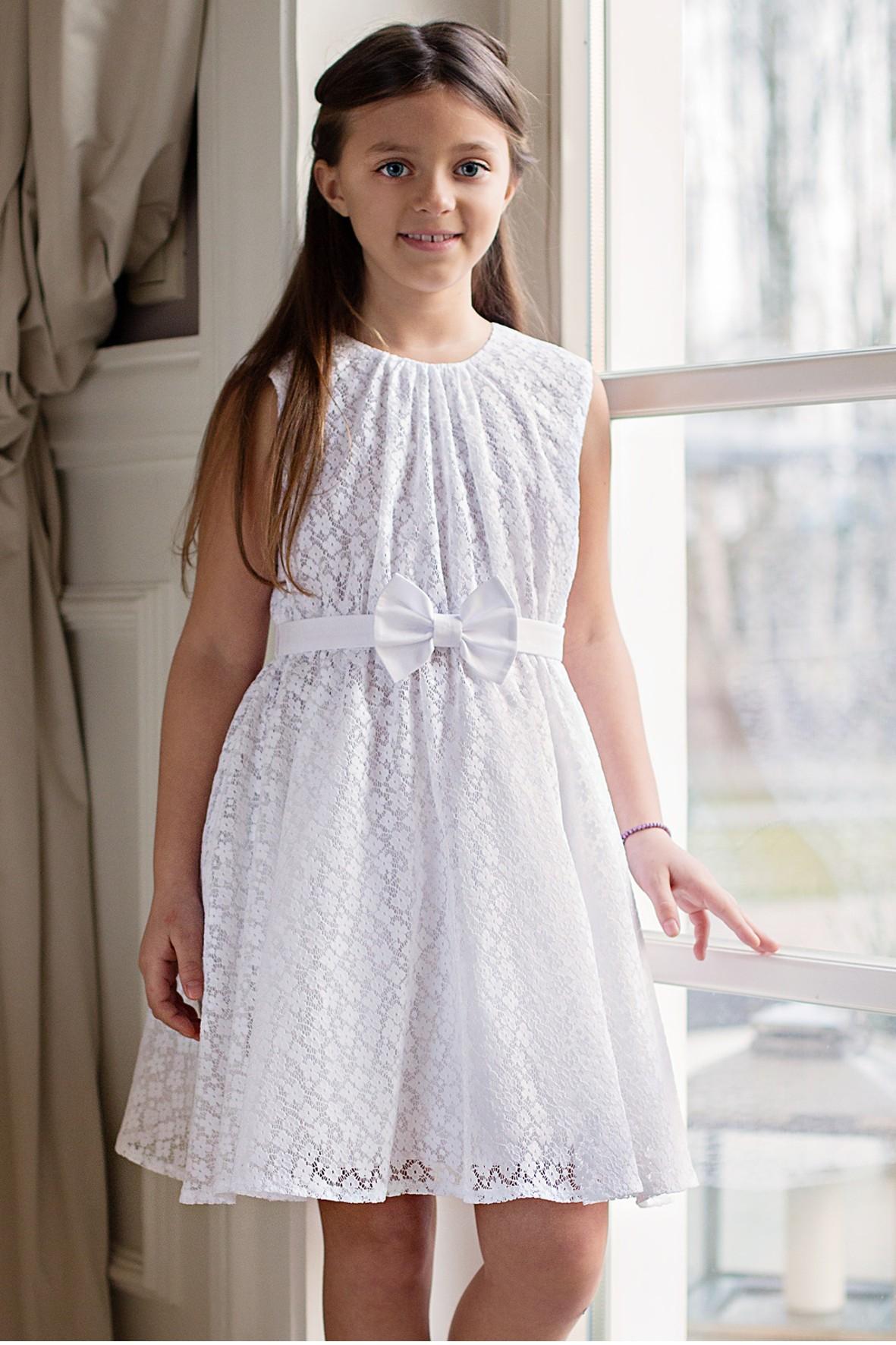 Sukienka dziewczęca 4K32A3