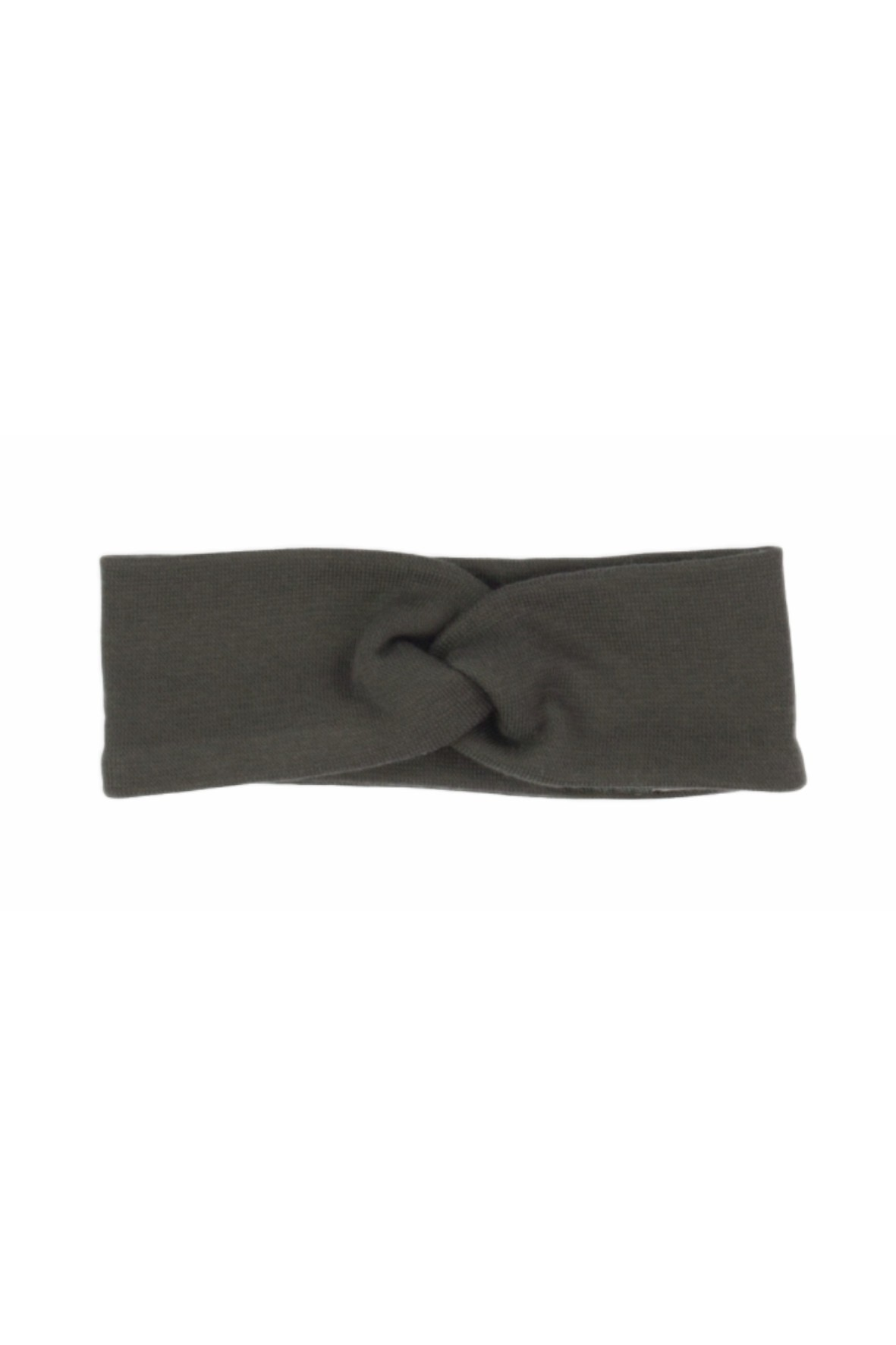 Opaska na głowę w kolorze ciemnego brązu