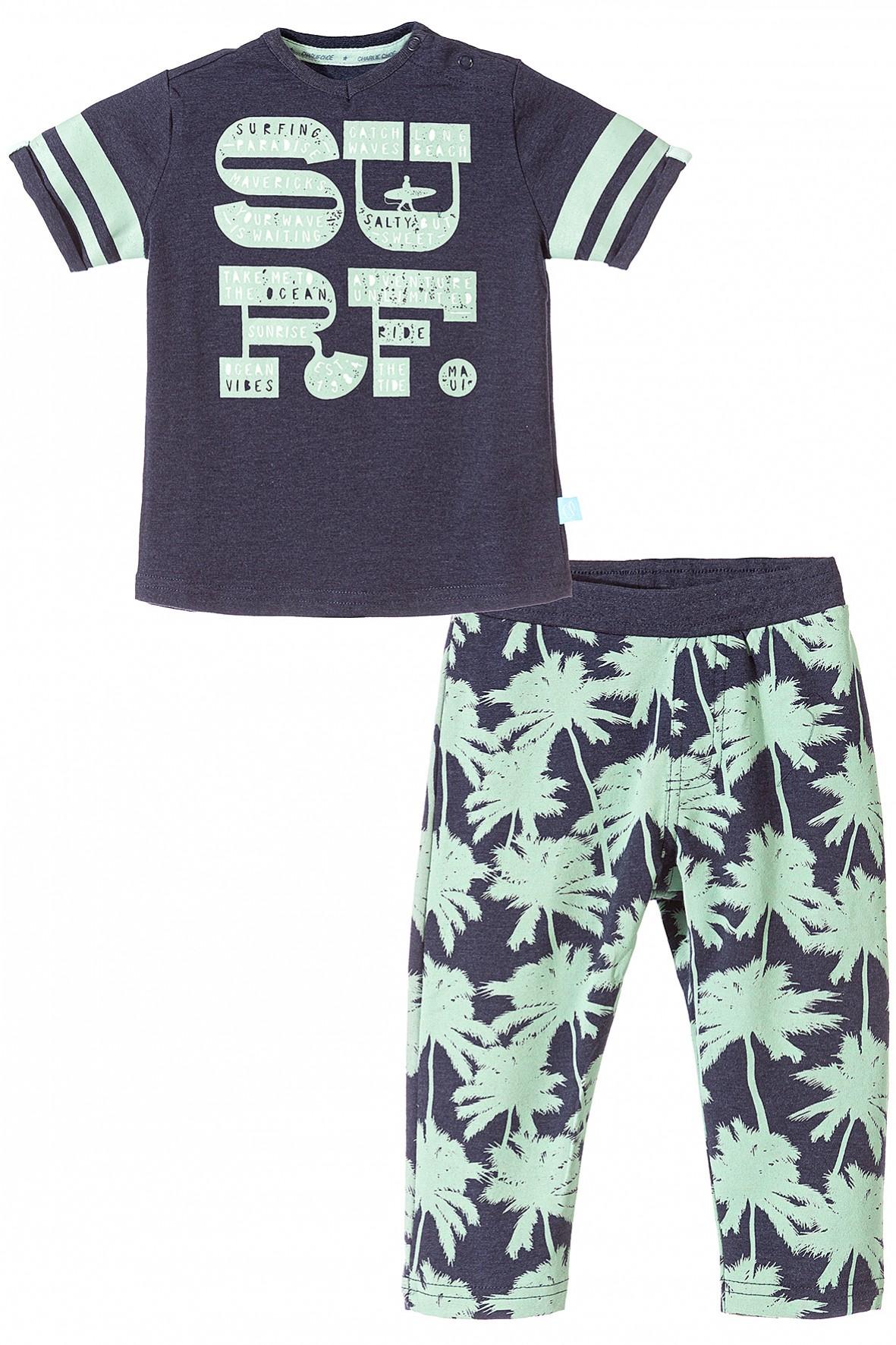 Pidżama dla niemowlaka-Surf