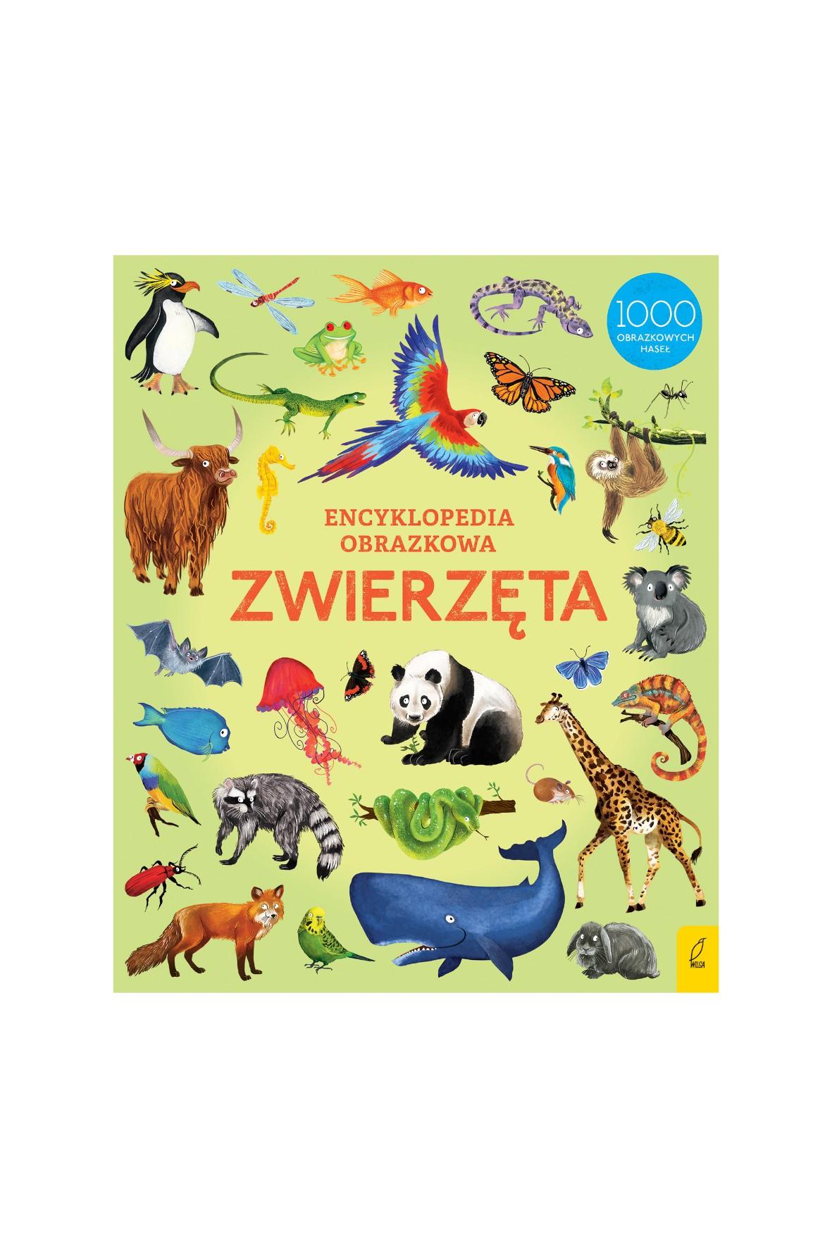 Encyklopedia obrazkowa. Zwierzęta - wiek 3+