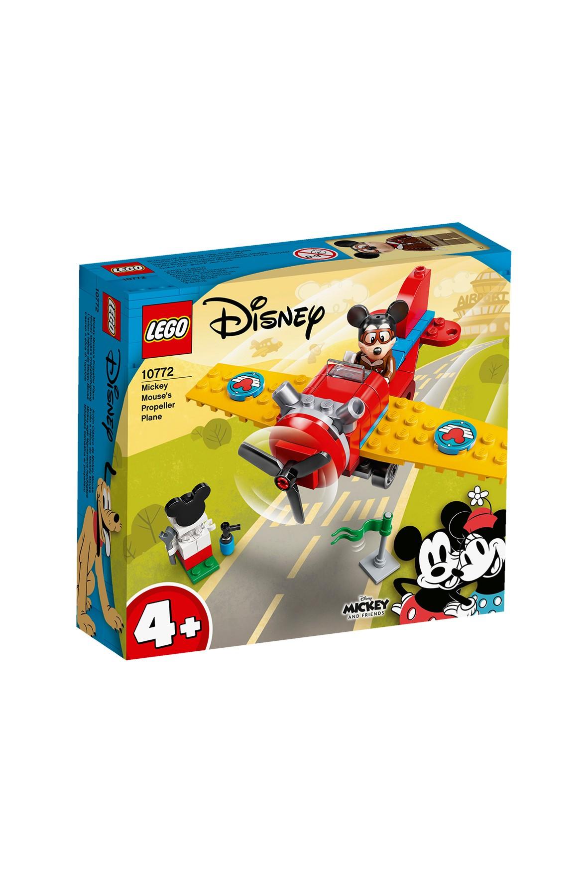 LEGO® ǀ Disney Mickey and Friends Samolot śmigłowy Myszki Miki  - 59 elementów, wiek 4+