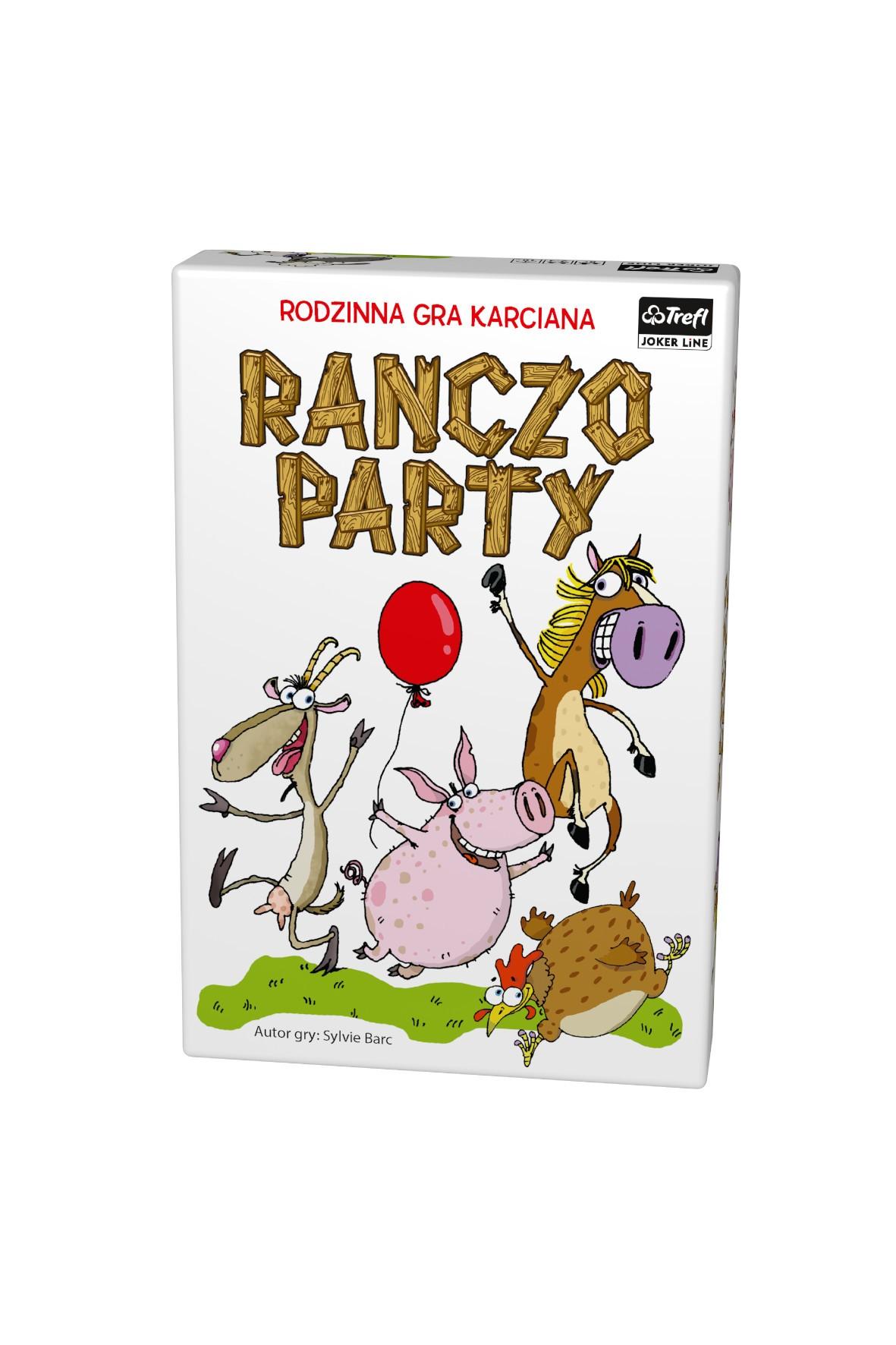 Gra karciana Ranczo party- Trefl