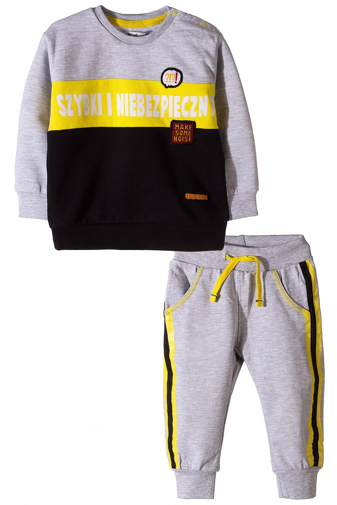 d7c481e5a4 Komplet dla niemowlaka – bluza dresowa i spodnie ...