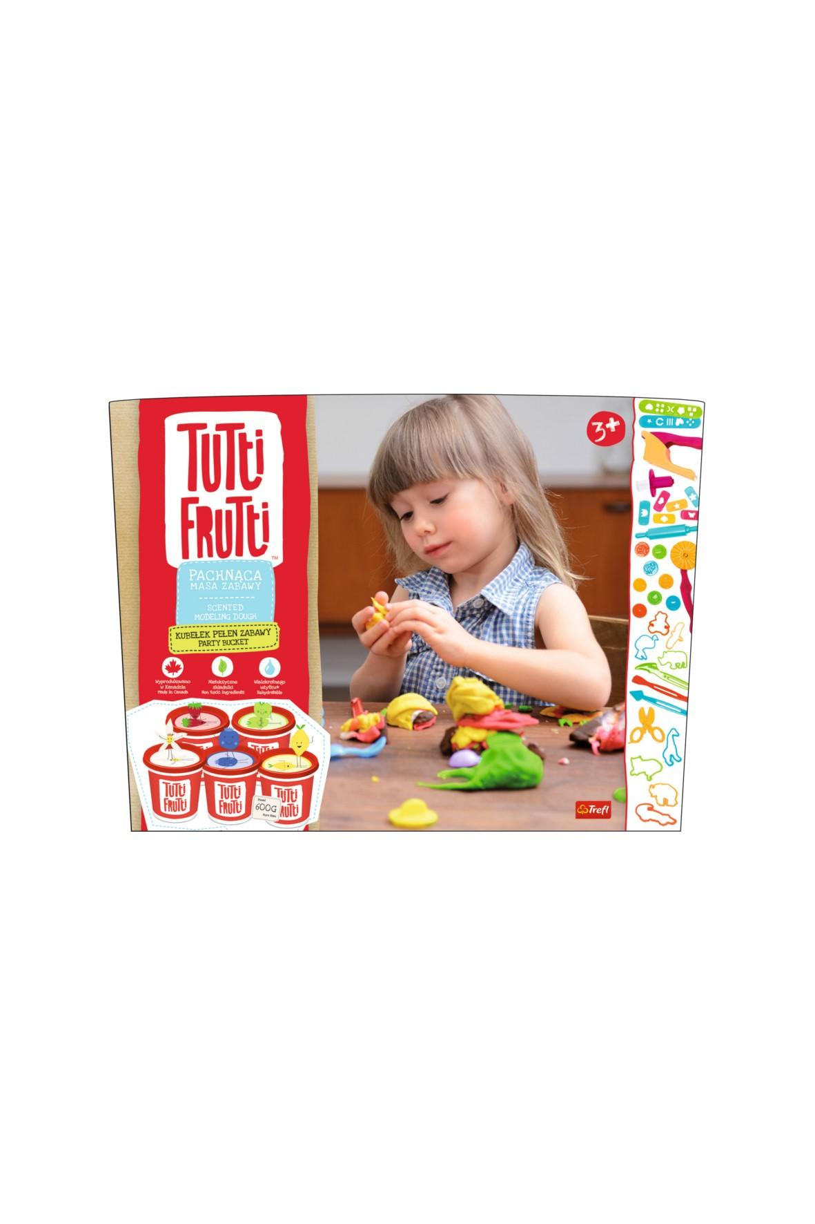 Kubełek pełen zabawy Tutti Frutti 3+