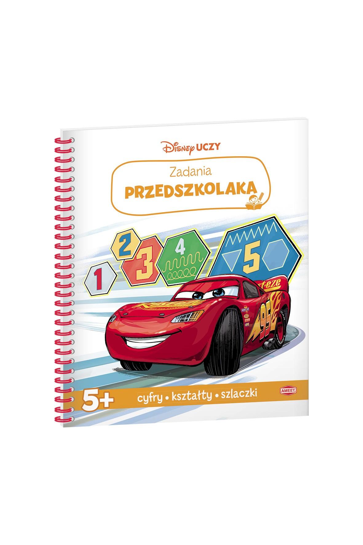 Disney uczy - Auta 3, Zadania przedszkolaka