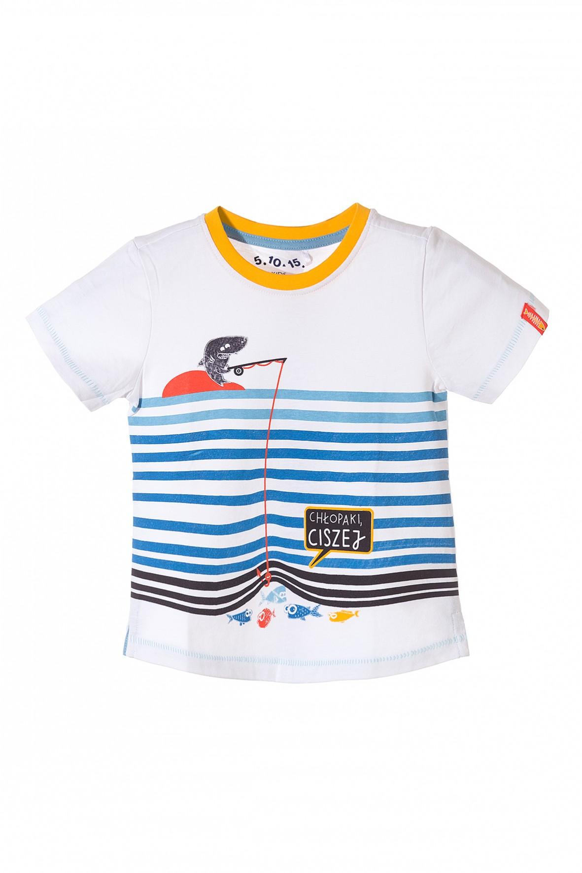 T-shirt chłopięcy 1I3421