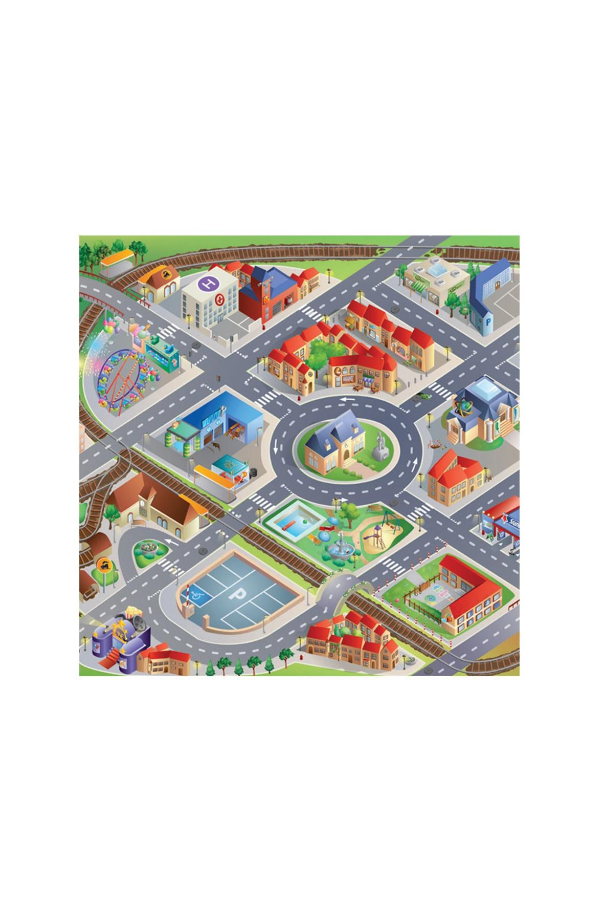 Mata do zabawy- Miasto