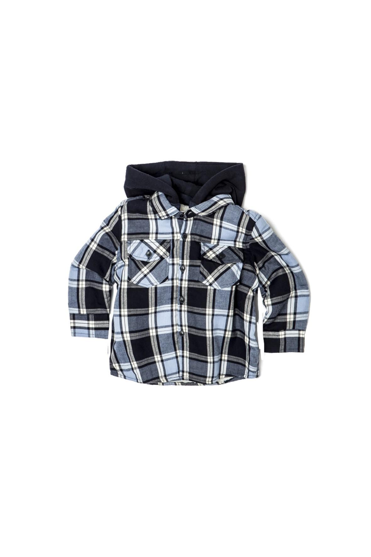 Koszula niemowlęca w kratkę