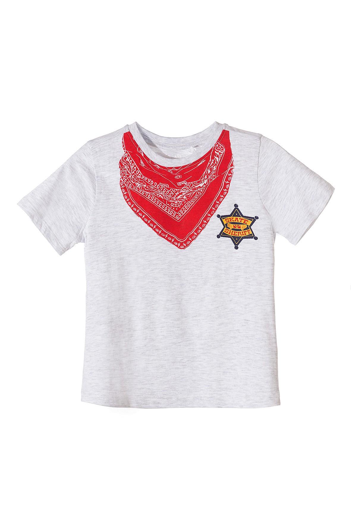 T-shirt dla chłopca Sheriff