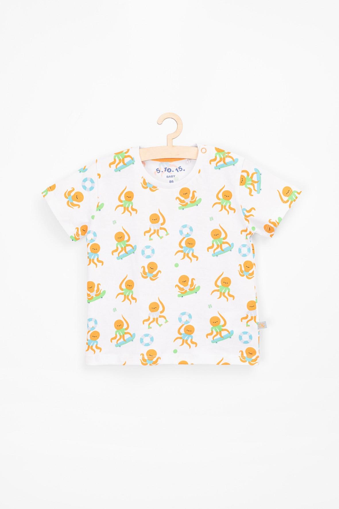 T-shirt dla niemowlaka w ośmiornice