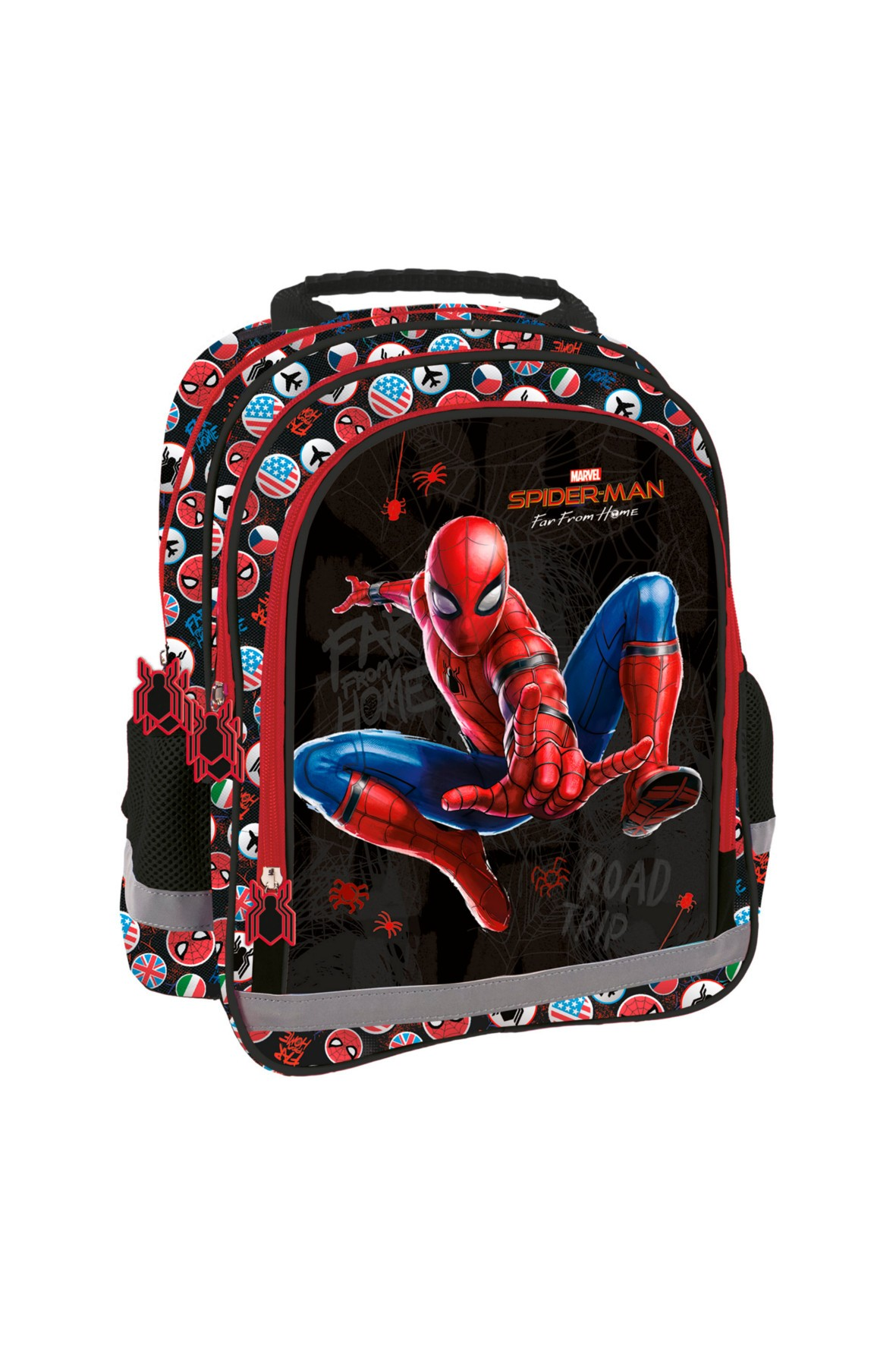 Plecak chłopięcy dzkolny z odblaskiem Spiderman
